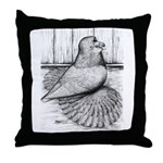 Ideal English Trumpeter Throw Pillow