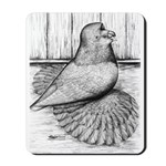 Ideal English Trumpeter Mousepad