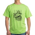Ideal English Trumpeter Green T-Shirt