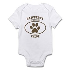 Pawperty of CHLOE Infant Bodysuit
