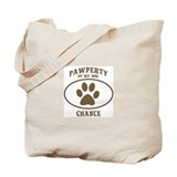 Pawperty of CHANCE Tote Bag