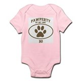 Pawperty of BO Infant Bodysuit