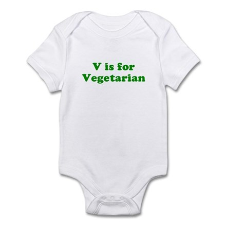 V is for Vegetarian Infant Creeper