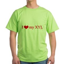 "HamTees.com ""I Love My XYL"" T-Shirt"