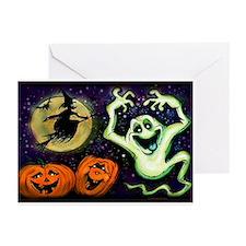 Cute Jack o lantern Greeting Cards (Pk of 10)