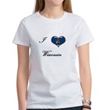 I Love (Heart) Wisconsin Tee