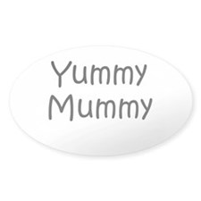 Yummy Mummy Oval Decal