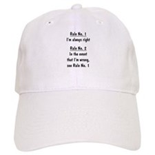 The Rules Baseball Cap