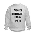 Intelligent Life Kids Sweatshirt