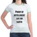 Intelligent Life Jr. Ringer T-Shirt