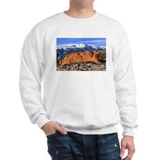 Pikes Peak, Kissing Camels Sweatshirt