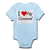 I Heart My General Onesie