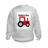 Daddy's Boy Red Tractor Sweatshirt