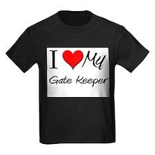 I Heart My Gate Keeper T