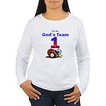 God's Team Women's Long Sleeve T-Shirt