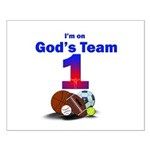 God's Team Small Poster
