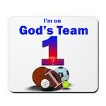 God's Team Mousepad