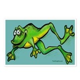 Froggy Postcards (Package of 8)