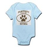 Pawperty of NUTMEG Infant Bodysuit