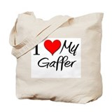 I Heart My Gaffer Tote Bag