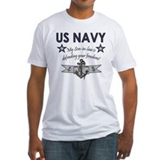 NAVY Son-in-law freedom Shirt