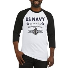 NAVY Son-in-law freedom Baseball Jersey