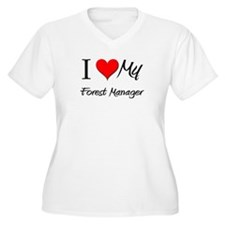 I Heart My Forest Manager T-Shirt