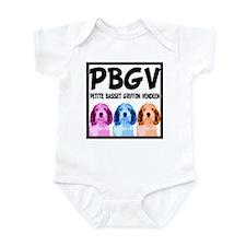 PBGV Pop Art Infant Bodysuit