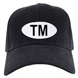 Turkmenistan Oval Baseball Cap