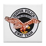 Denver Police SWAT Tile Coaster