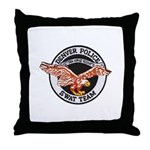 Denver Police SWAT Throw Pillow