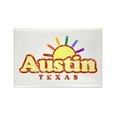 Sunny Gay Austin, Texas Rectangle Magnet