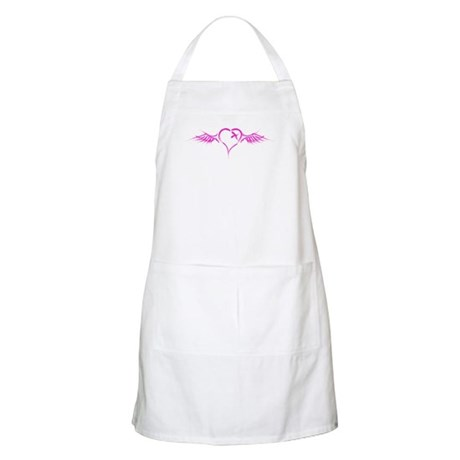 Flying Heart BBQ Apron
