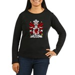 Robin Family Crest Women's Long Sleeve Dark T-Shir