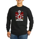Robin Family Crest Long Sleeve Dark T-Shirt