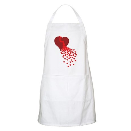 Thousands Of Hearts BBQ Apron