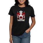 Rhos Family Crest Women's Dark T-Shirt