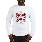 Rhos Family Crest Long Sleeve T-Shirt