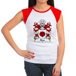 Rhos Family Crest Women's Cap Sleeve T-Shirt