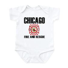 Chicago Fire Department Infant Bodysuit