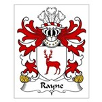 Rayne Family Crest Small Poster