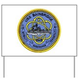 USS Bainbridge CGN 25 Yard Sign