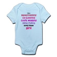 loved little girl Infant Bodysuit