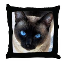 Siamese cat - Throw Pillow