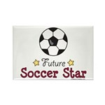 Future Soccer Star Soccer Rectangle Magnet (100 pa