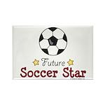 Future Soccer Star Soccer Rectangle Magnet (100 pa