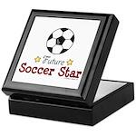 Future Soccer Star Soccer Keepsake Box