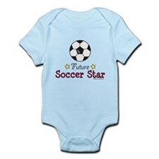 Future Soccer Star Soccer Infant Bodysuit