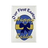 our first easter Rectangle Magnet