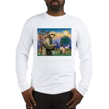 St Francis / Siamese Long Sleeve T-Shirt